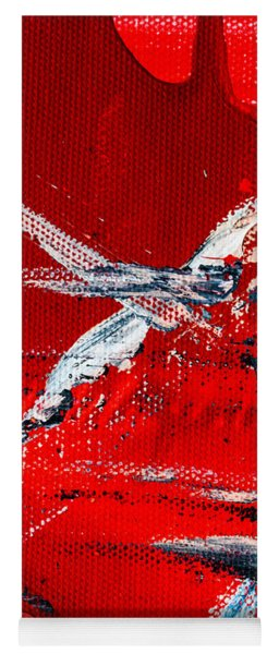 Abstract Original Artwork One Hundred Phoenixes Untitled Number Seven Yoga Mat
