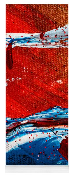 Abstract Original Artwork One Hundred Phoenixes Untitled Number Three Yoga Mat