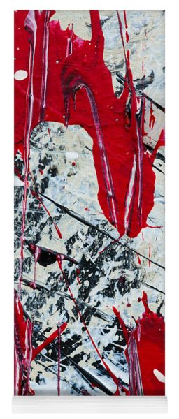Abstract Original Painting Untitled Nine Yoga Mat