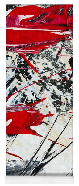 Abstract Original Painting Untitled Ten Yoga Mat