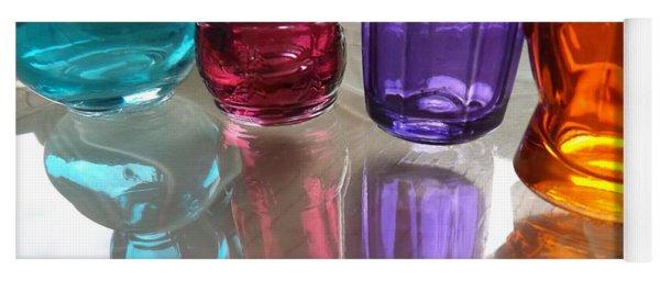 Abstract Reflections #4 Yoga Mat