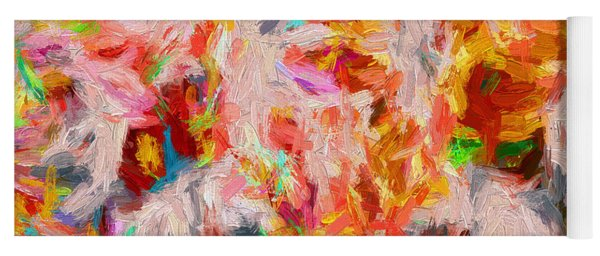 Abstract Series 31 Yoga Mat