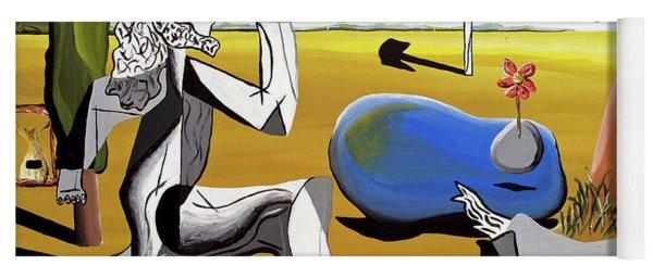Abstract Surrealism Yoga Mat
