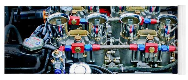 Ac Shelby Cobra Engine Yoga Mat