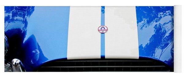 Ac Shelby Cobra Grille - Hood Emblem Yoga Mat