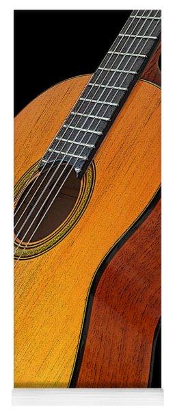 Acoustic Guitar Yoga Mat