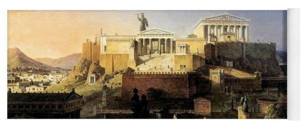 Acropolis Of Athens Yoga Mat