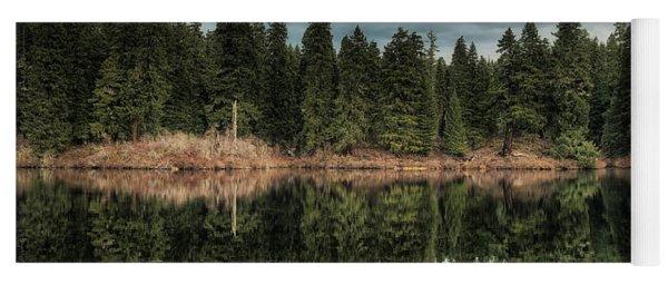 Across The Lake Yoga Mat