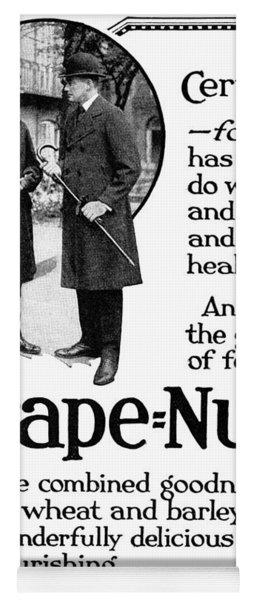 Ad Grape Nuts, 1919 Yoga Mat