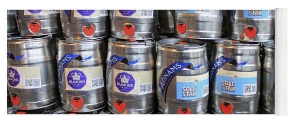 Adnams Jubilee Beer Keg Yoga Mat