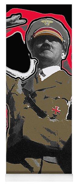 Adolf Hitler Saluting 2 Circa 1933-2009 Yoga Mat