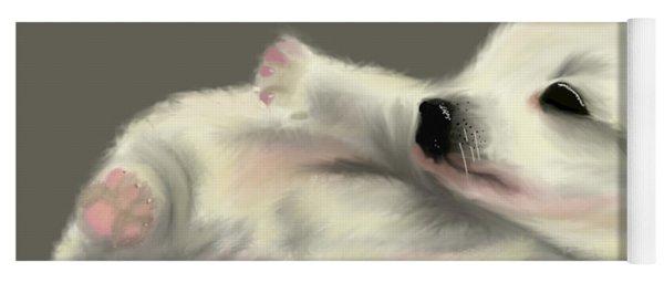 Adorable Pup Yoga Mat