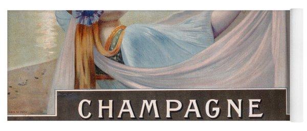 Advertisement For Champagne Delbeck Yoga Mat