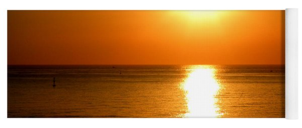Aegean Sunset Yoga Mat