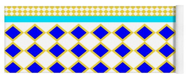 African Pattern  Yoga Mat