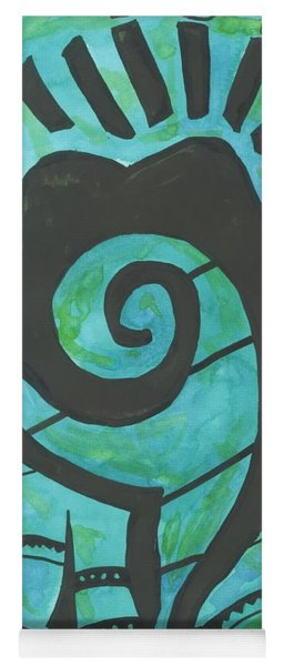 African Question Mark Yoga Mat