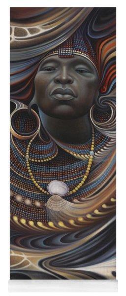 African Spirits I Yoga Mat