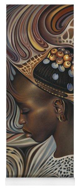 African Spirits II Yoga Mat