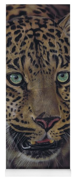 After Dark All Cats Are Leopards Yoga Mat