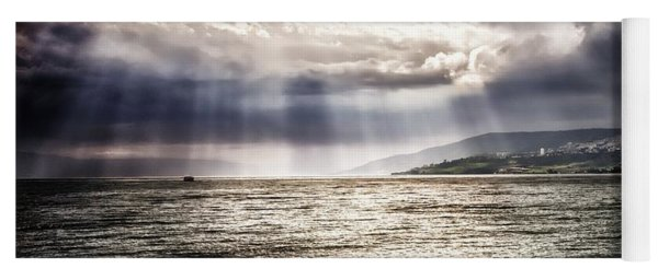 After The Storm Sea Of Galilee Israel Yoga Mat