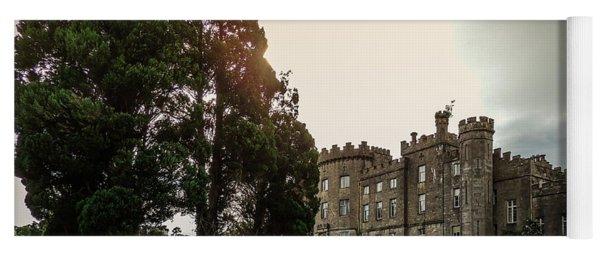 Afternoon Sun Over Markree Castle Yoga Mat