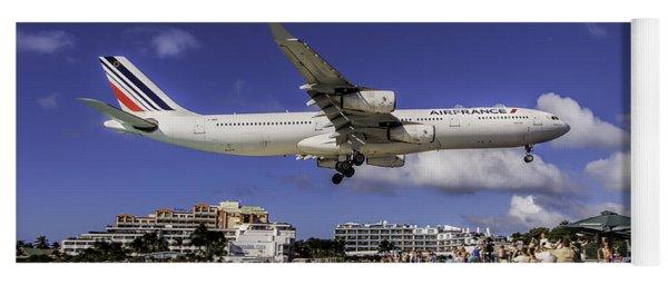 Air France St. Maarten Landing Yoga Mat