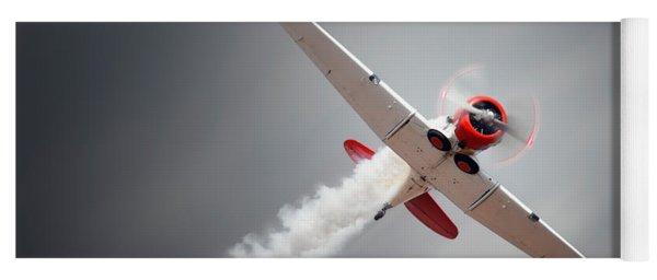 Aircraft In Flight Yoga Mat