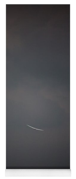 Aircraft Surrounded By Dramatic Dark Yoga Mat