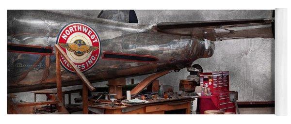Airplane - The Repair Hanger  Yoga Mat