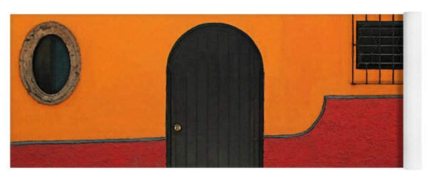Ajijic Door No.4 Yoga Mat