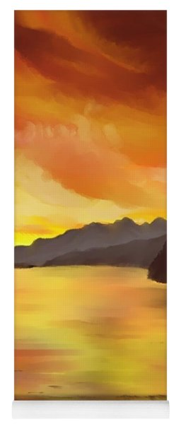 Alaska Sunset Yoga Mat