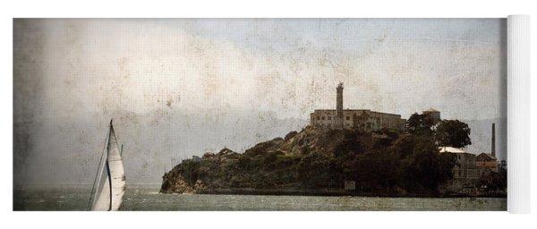 Alcatraz Island Yoga Mat