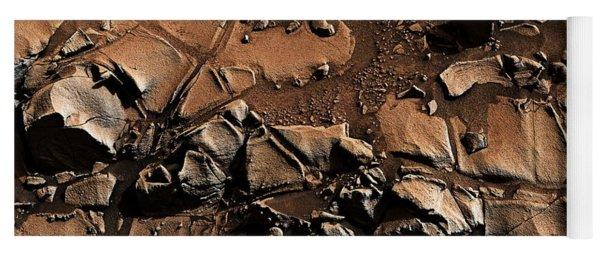 Alexander Hills Bedrock In Mars Yoga Mat
