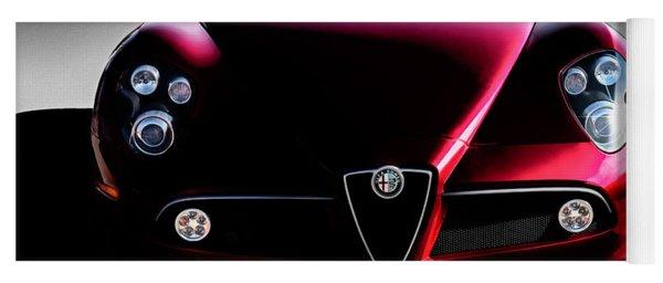 Alfa Romeo 8c Yoga Mat