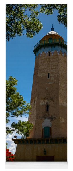 Alhambra Water Tower Of Coral Gables Yoga Mat