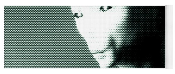 Alien Grey Pattern Yoga Mat