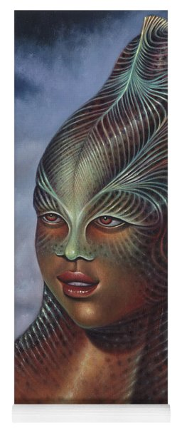 Alien Portrait I Yoga Mat