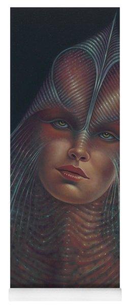 Alien Portrait Il Yoga Mat