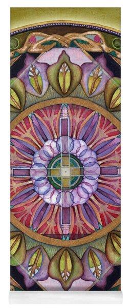 All Is Well Mandala Yoga Mat