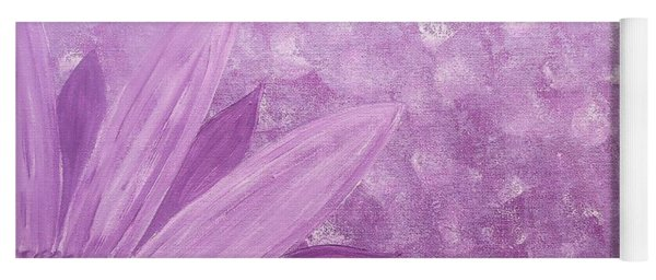 All Purple Flower Yoga Mat