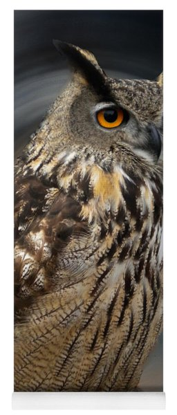 Almeria Wise Owl Living In Spain  Yoga Mat