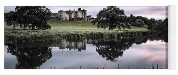 Alnwick Castle Sunset Yoga Mat