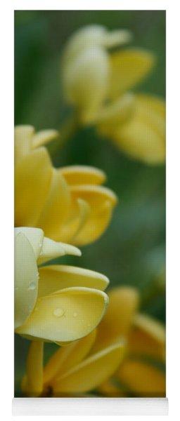 Aloha He Pua Lahaole Kula Gardenia Grandiflora Yoga Mat