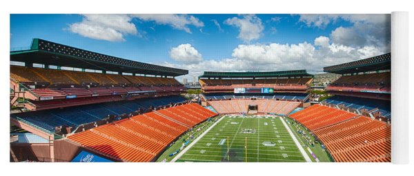 Aloha Stadium Yoga Mat