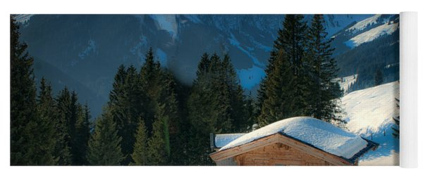 Alpine View Yoga Mat