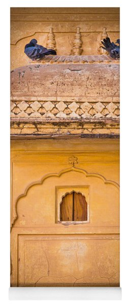 Amber Fort Birdhouse Yoga Mat