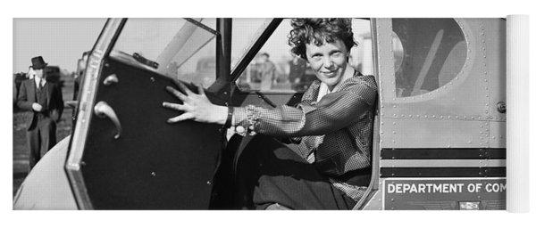 Amelia Earhart - 1936 Yoga Mat