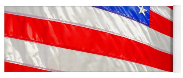 Yoga Mat featuring the photograph American Flag 1 by Joseph C Hinson Photography