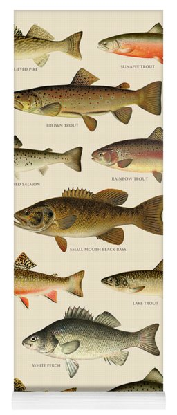American Game Fish Yoga Mat