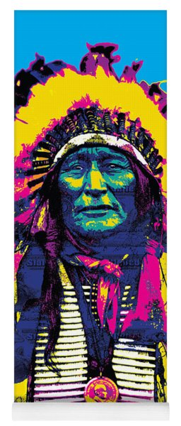 American Indian Chief Yoga Mat